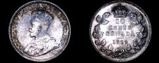 Buy 1929 Canada 10 Cent World Silver Coin - Canada - George V