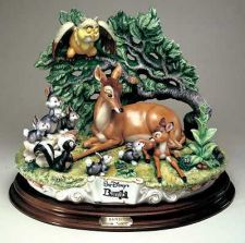 Buy Disney Bambi Capodimonte Laurenz Porcelain C.O.A. Original Box