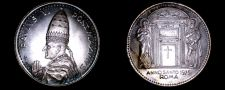 Buy 1975 Vatican City Pope Paul VI World Silver Medal - Catholic Church Italy