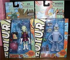 Buy Futurama - Bender & Kif - Robot Devil Build A Bot - 2 Action Figures