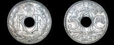 Buy 1917 French 5 Centimes World Coin - France