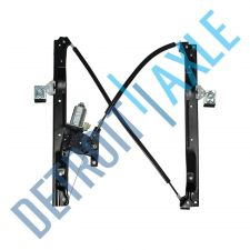 Buy NEW Power Front Driver Side Power Window Regulator Assembly with Motor