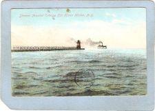 Buy New York Fair Haven Lighthouse Postcard Lighthouse w/Steamer Arundall Ente~762