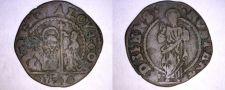 Buy 1676-1684 Venetian 12 Bagattini World Coin Under Doge Alvise Contarini - Venice