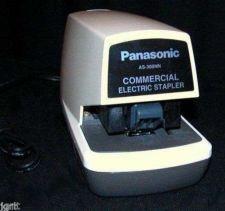 Buy Panasonic AS 300NN Commercial Electric STAPLER staple gun office as300NN powered