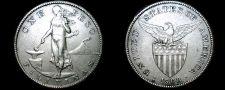 Buy 1908-S Philippino 1 Peso World Silver Coin - Philippines U.S. Admin