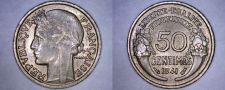 Buy 1941 French 50 Centimes World Coin - France