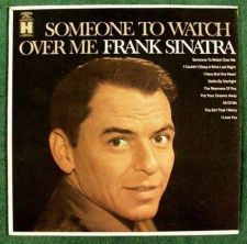 """Buy FRANK SINATRA """" Someone To Watch Over Me """" 1968 Jazz LP"""
