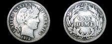 Buy 1912-D Barber Dime Silver