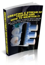 Buy Creating A Stream of Traffic And How To Maintain It Ebook + 10 Free eBooks PDF