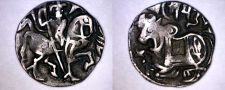Buy 750-850AD Spalapati Deva Silver Drachm - Turk Shahis Kabul