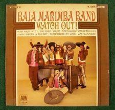 """Buy BAJA MARIMBA BAND """" Watch Out ! """" 1966 Pop LP"""