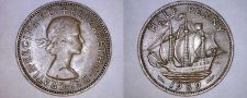 Buy 1959 Great Britain Half (1/2) Penny World Coin - UK - England