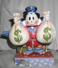 Buy Disney Uncle Scrooge with his money bags Figurine