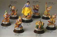 Buy Disney Snow White 8 Figures Laurenz Capodimonte Disney C.O.A. Original Box