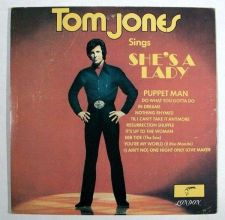 Buy TOM JONES ~ Tom Jones Sings She's A Lady 1971 Pop LP