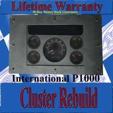Buy INTERNATIONAL P1000 INSTRUMENT CLUSTER REPAIR SERVICE READ LISTING