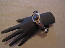 Buy New Metal, Spring and Bead Stretch Bracelet # 27