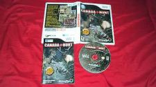 Buy Wii CANADA HUNT DISC MANUAL ART & CASE VG TO NRMNT SHIPS SAME DAY OR NEXT