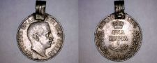 Buy 1910-R Italian Somaliland 1 Rupia World Silver Coin - Looped