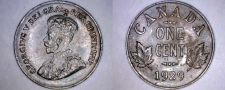 Buy 1929 Canada 1 Small Cent World Coin - Canada