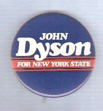 Buy New York Senate Candidate: Dyson Political Campaign Button~4