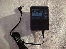 Buy Sony 4.5v 4.5 volt power supply = RCA compact disc CD player cable plug VAC VDC
