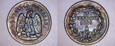 Buy 1893-Mo Mexican 1 Centavo World Coin - Mexico