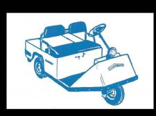 Buy CUSHMAN EXECUTIVE & CHAMPION GOLFSTER INDUSTRIAL SCOOTER PARTS MANUAL