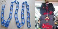 "Buy Hanging Chains With Hook Blue Plastic Chains 3 mm Qty 53"" Hanging Decor Clothes"