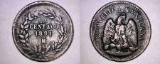 Buy 1891 Mexican 1 Centavo World Coin - Mexico