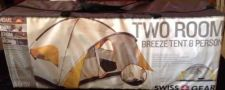 Buy SWISS GEAR 8 Man Porch Tent, 2 Rooms, NEW Never Opened - BUY NOW July 4 Camping!