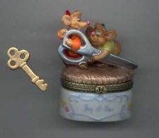 Buy Disney Cinderella Gus & Jaq Mice Porcelain PHB