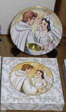 Buy Disney Snow White & Prince Wedding Porcelain Plate