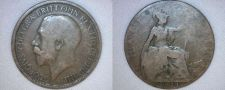 Buy 1921 Half Penny World Coin - Great Britain - UK - England