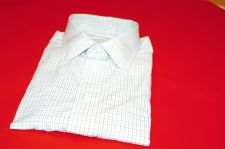 Buy ASSORTED COLOURS classic fit neck 16, sold,stripes,checks,100%cotton 34/35sleeve