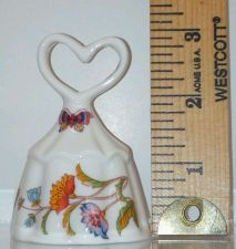 Buy Vintage Collectable HEART Handled BELL *Beautiful*