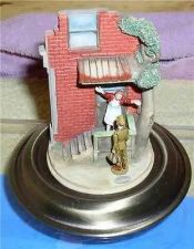 Buy American Norman Rockwell Home Coming Vignette Figurine