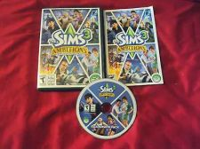 Buy The Sims 3 AMBITIONS PC & MAC DVD DISC MANUAL ART & CASE MINT TO NRMNT HAS CODE