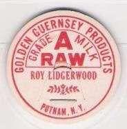 Buy New York Putnam Milk Bottle Cap Name/Subject: Roy Lidgerwood Golden Guerns~167