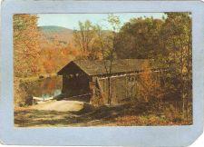 Buy New York Livingston Manor Covered Bridge Postcard Bridge At Beaverkill Cam~489