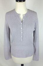 Buy J Crew Sweater S Womens Purple Wool Long Sleeve Tunic
