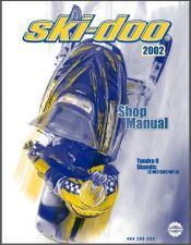 Buy 2002-2003 Ski-Doo Tundra R - Scandic Snowmobile Service Shop Repair Manual CD