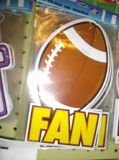 Buy Football magnet Football fan Mega big magnet 6 lot team gift fundraiser