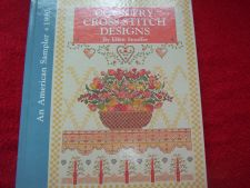 Buy An American Sampler Ser.: Country Cross-Stitch Designs by Ellen Stouffer...