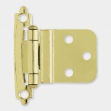 "Buy 2 pc LIBERTY H0104AC-BP-0 3/8"" Self-Closing Inset Hinge Brass Finish"