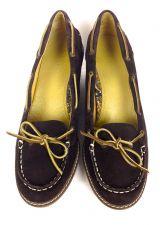 Buy Sperry Top Sider Shoes 10 Womens Brown Suede Heels