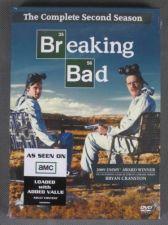 Buy AMC BREAKING BAD second Season 2 (two) DVD 4 Disc 2010 BOXED SET Bryan CRANSTON
