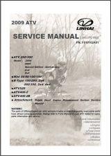 Buy 2009 Linhai ATV Service Repair Manual CD .. 50 80 100 150 200 260 300 400