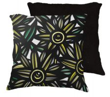 Buy 22x22 Wuebker Yellow Black Pillow Flowers Floral Botanical Cover Cushion Case Throw P